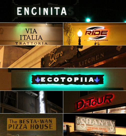 Local Encinitas: Evening Survey of 101