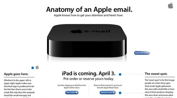 The Anatomy Of An Apple Email Explained