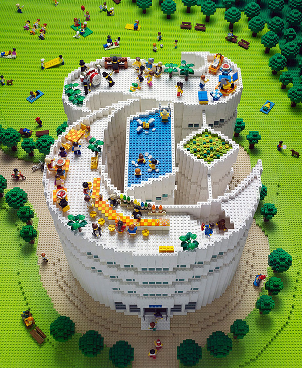 New York Times T Magazine in Legos