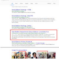Sonia Calderon Search Results