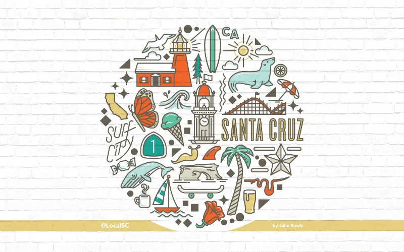 Local Santa Cruz – Beach Wallpaper