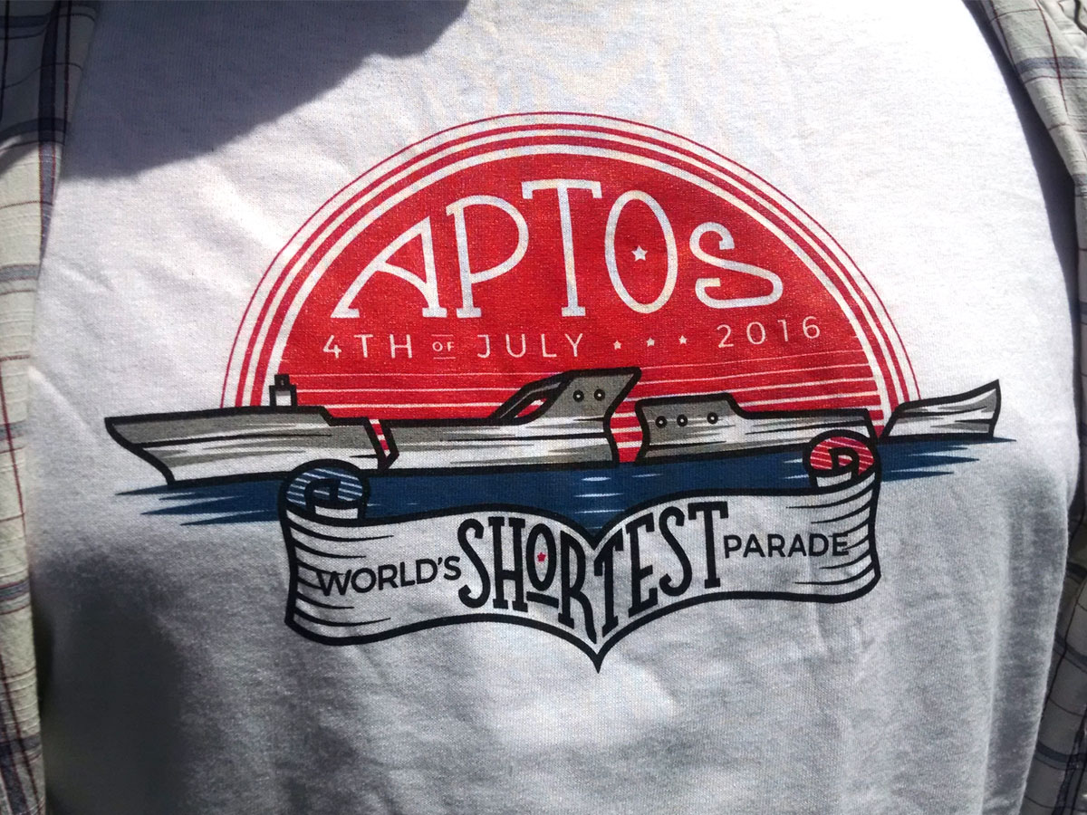 Aptos 4th July 2016 - Shirt