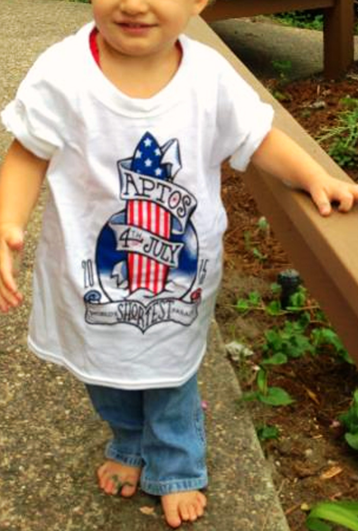 Aptos 4th July, 2015 - Kids Shirt