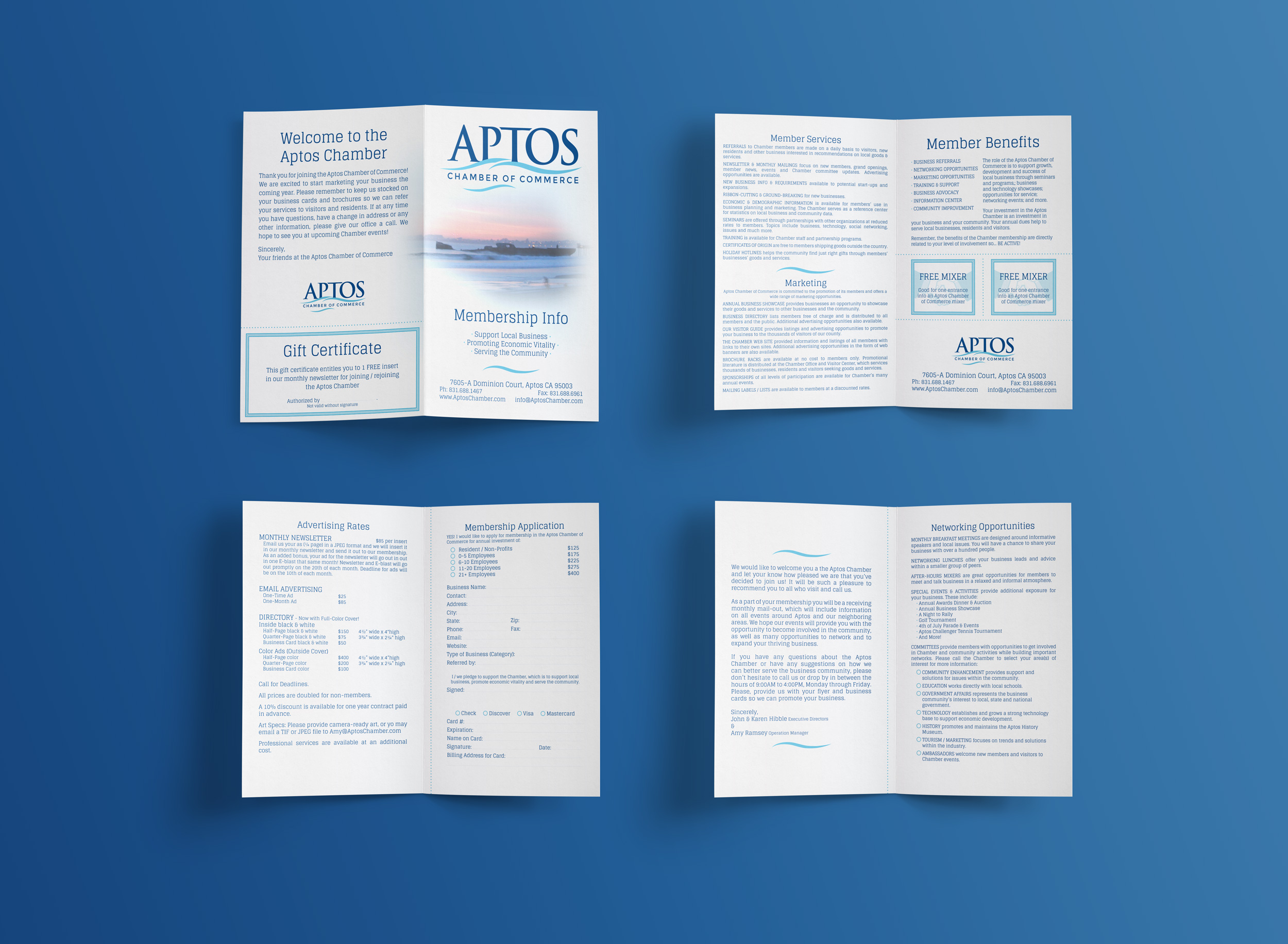 Aptos Chamber of Commerce - membership booklet