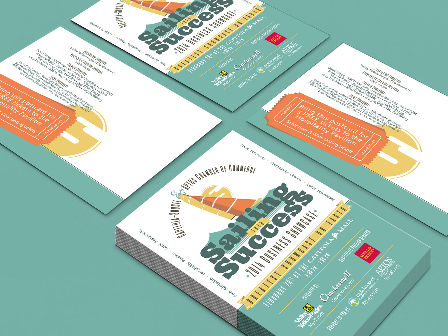 business showcase - postcards