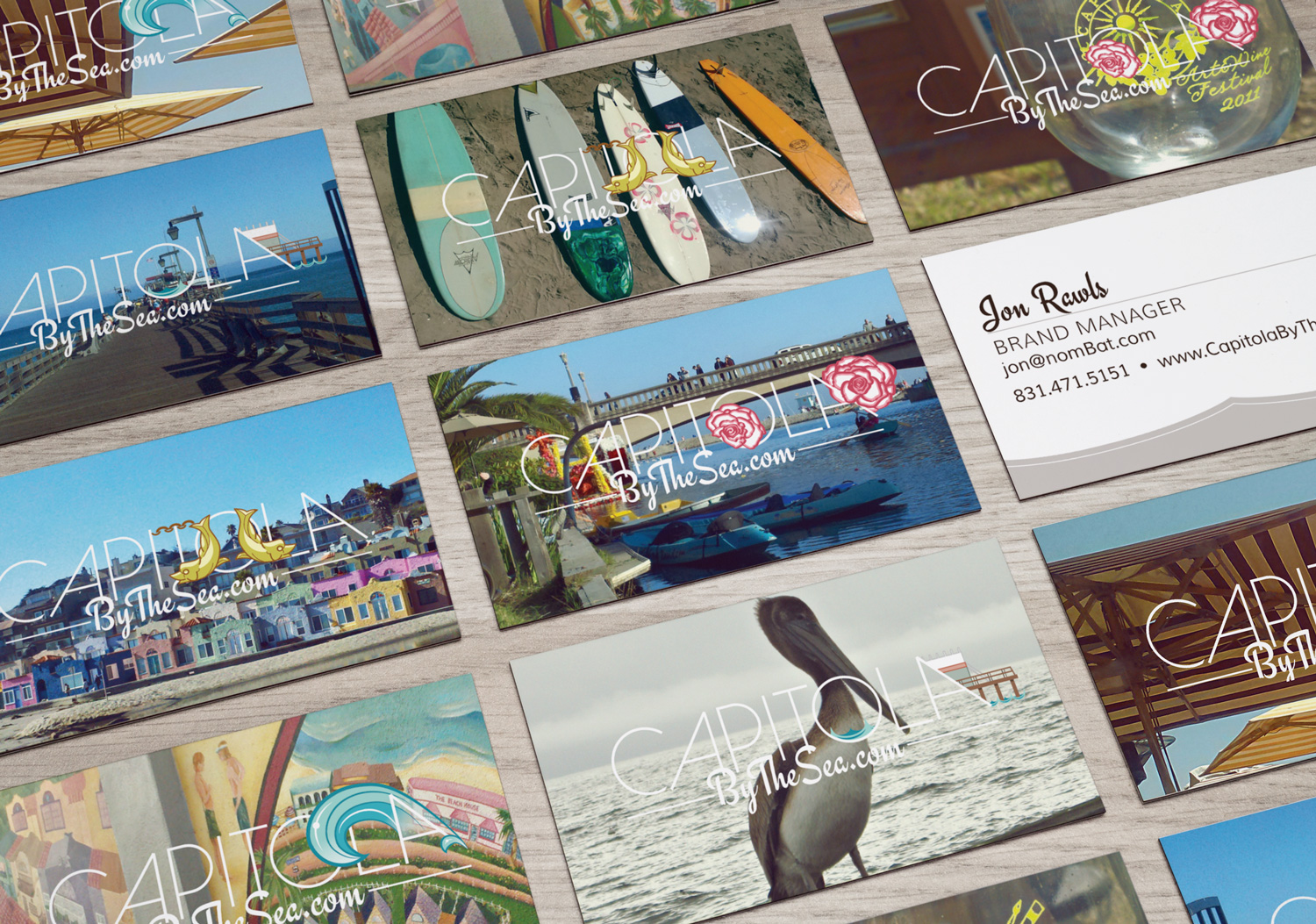 Capitola by the Sea - business cards