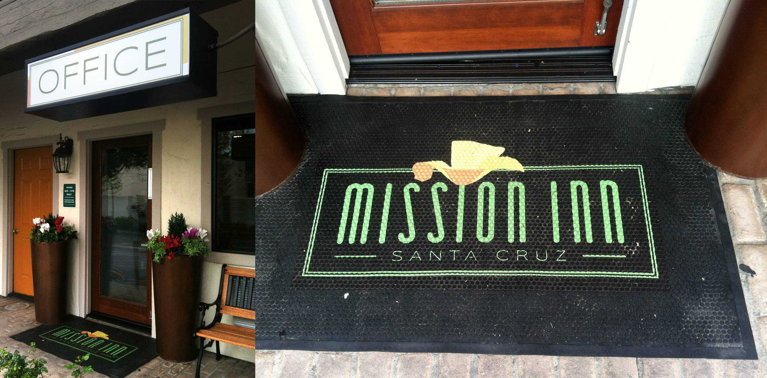 Mission Inn - Office Signage