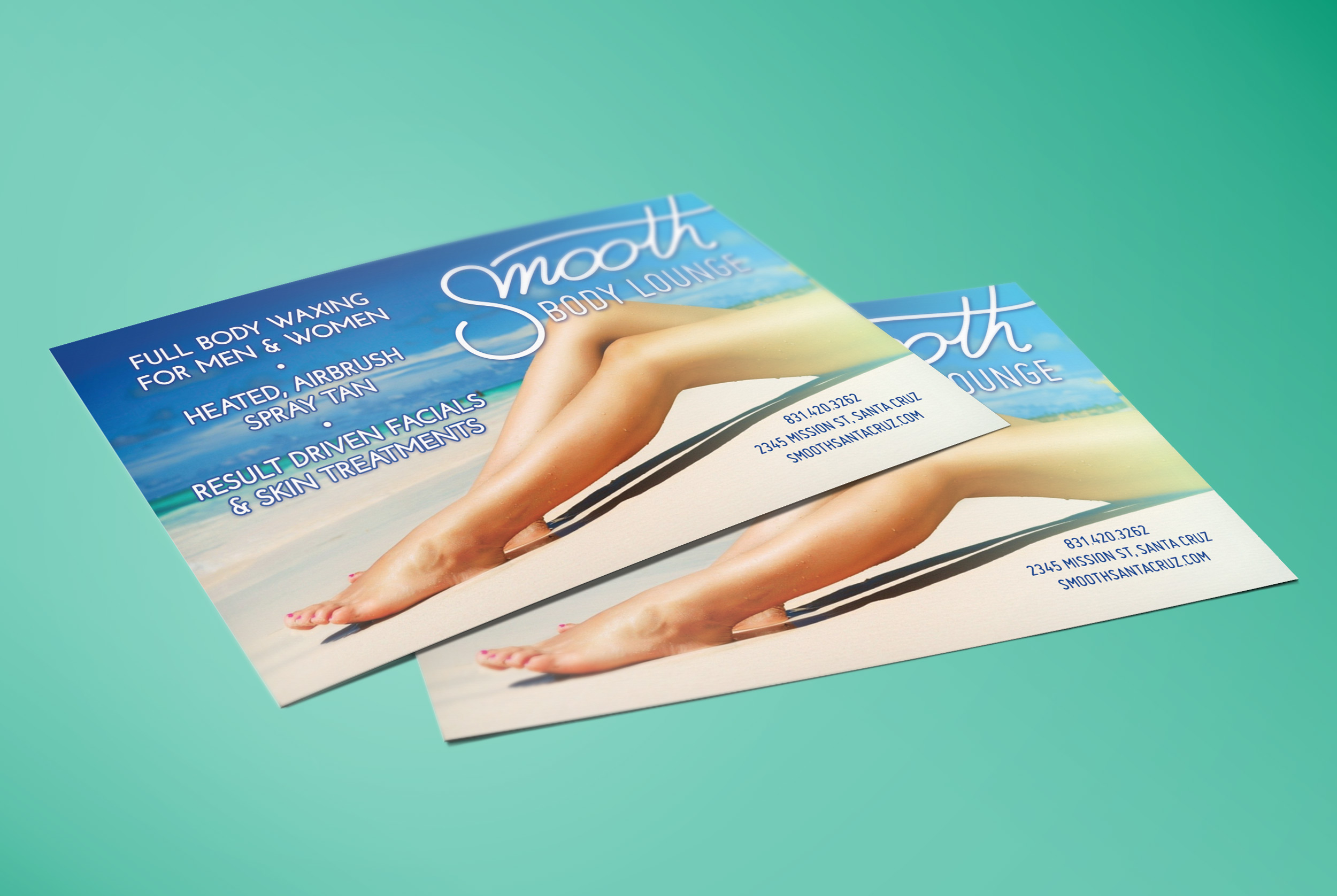 Smooth - Flyer Postcard