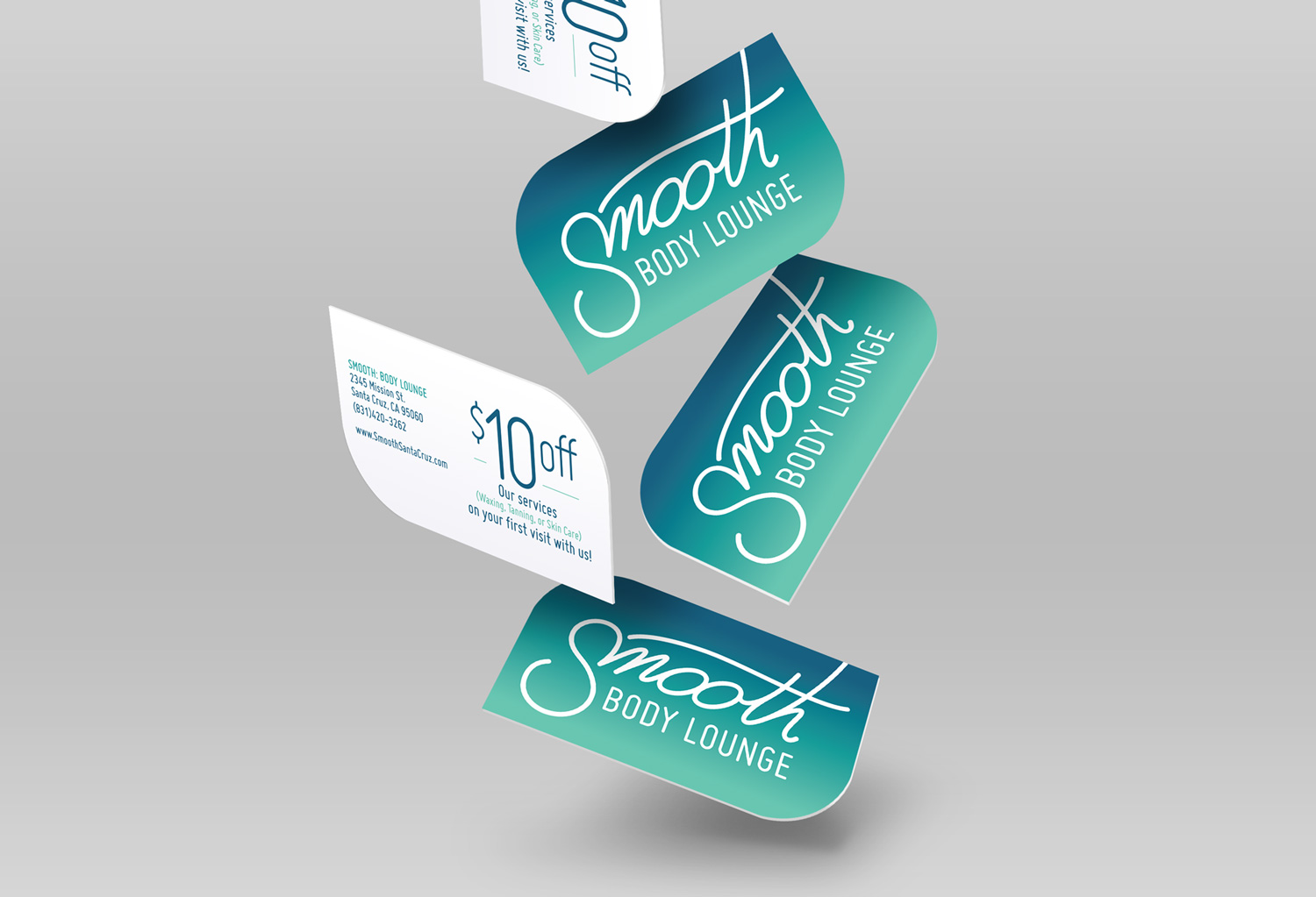smooth - promo cards