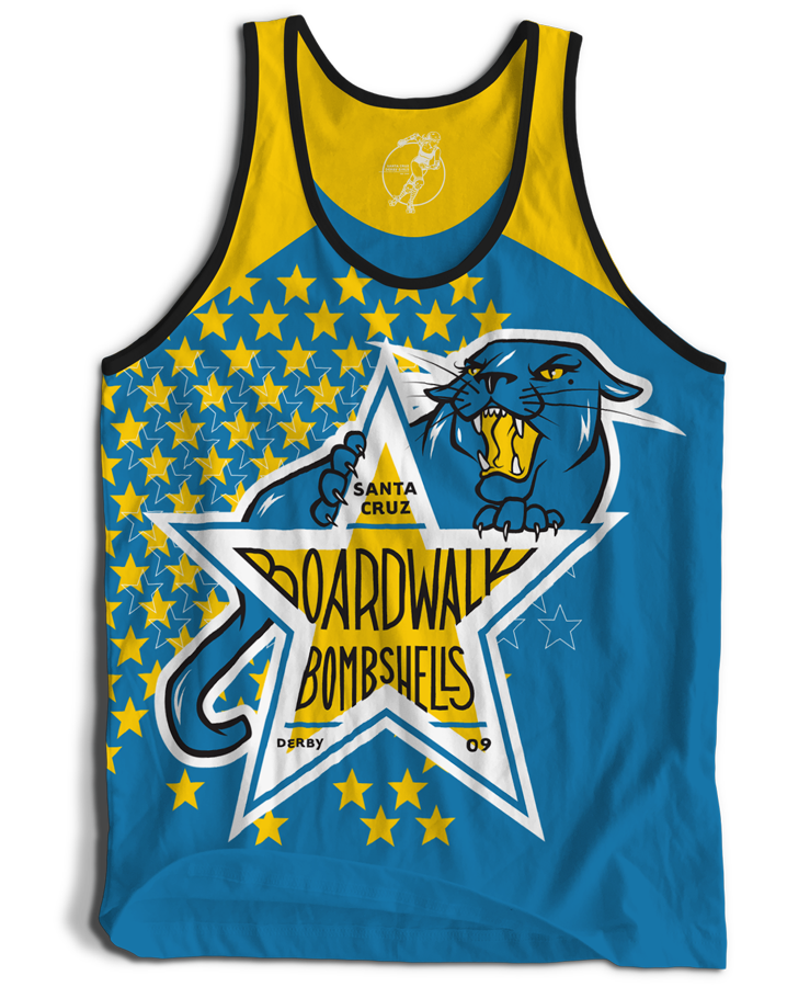 Santa Cruz Derby Girls - Jerseys - Boardwalk Bombshells