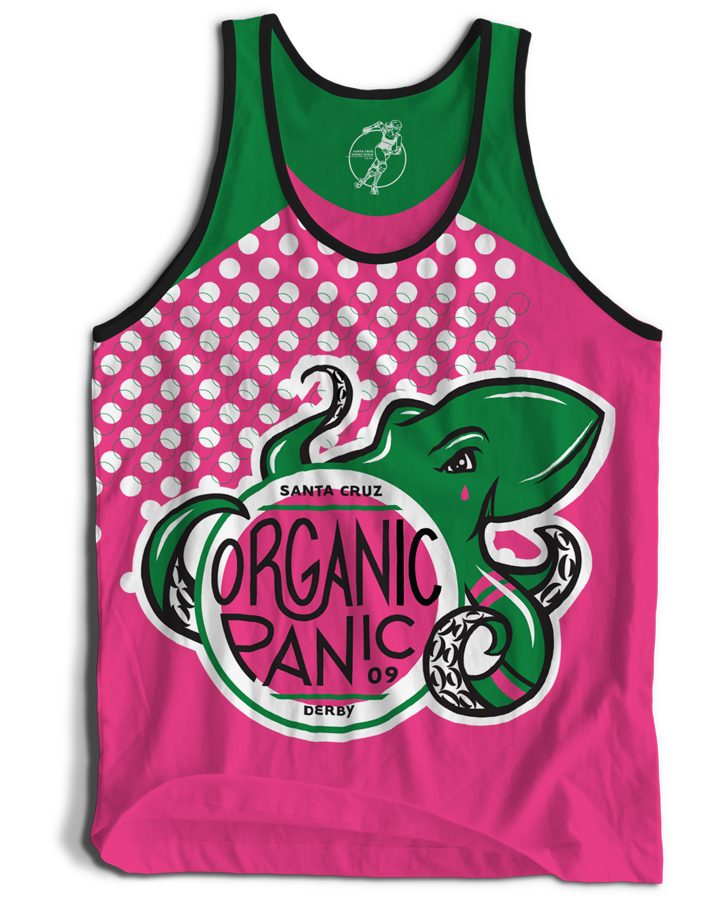 Santa Cruz Derby Girls - Jerseys - Organic Panic