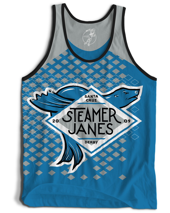 Santa Cruz Derby Girls - Jerseys - Steamer Janes
