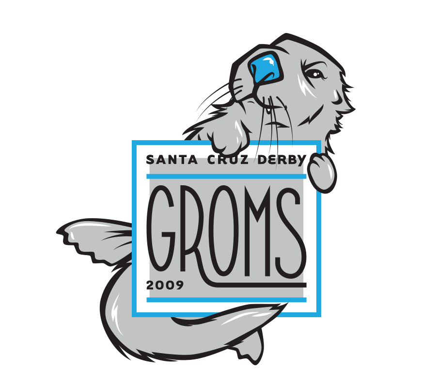 Santa Cruz Derby Girls - Team logo - Groms