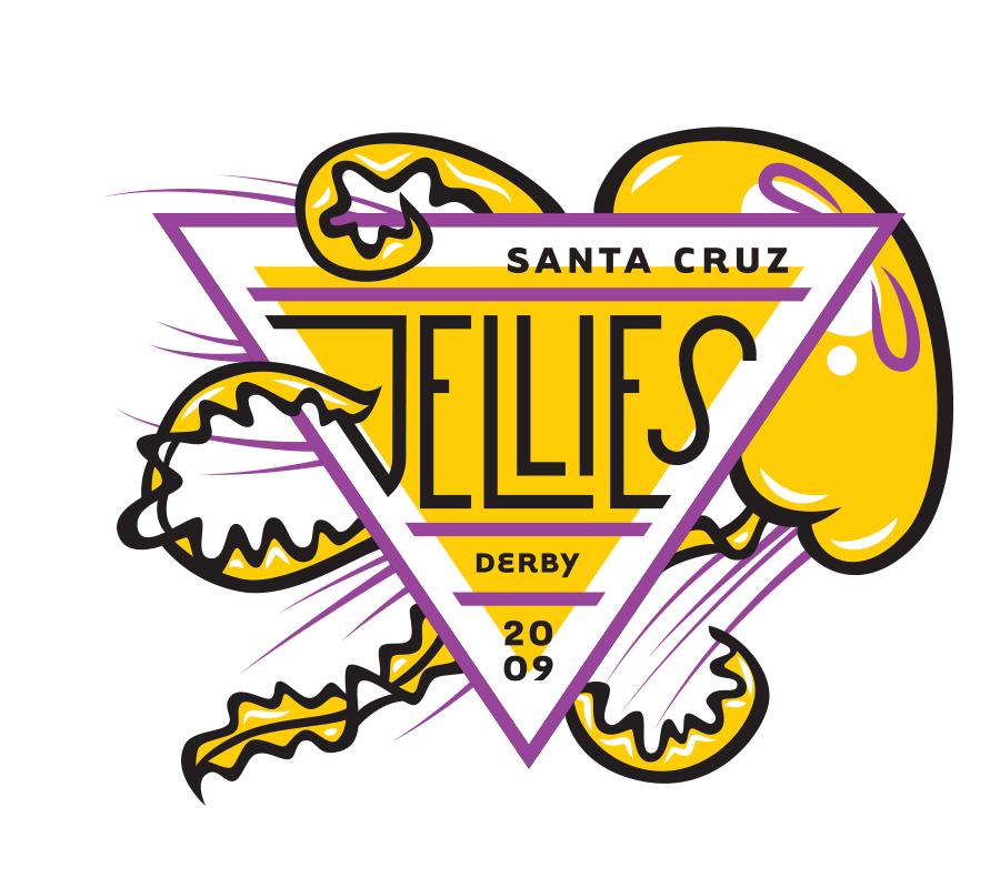 Santa Cruz Derby Girls - Team logo - Jellies