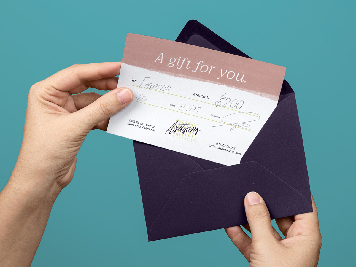 Artisans Gallery - Gift certificate