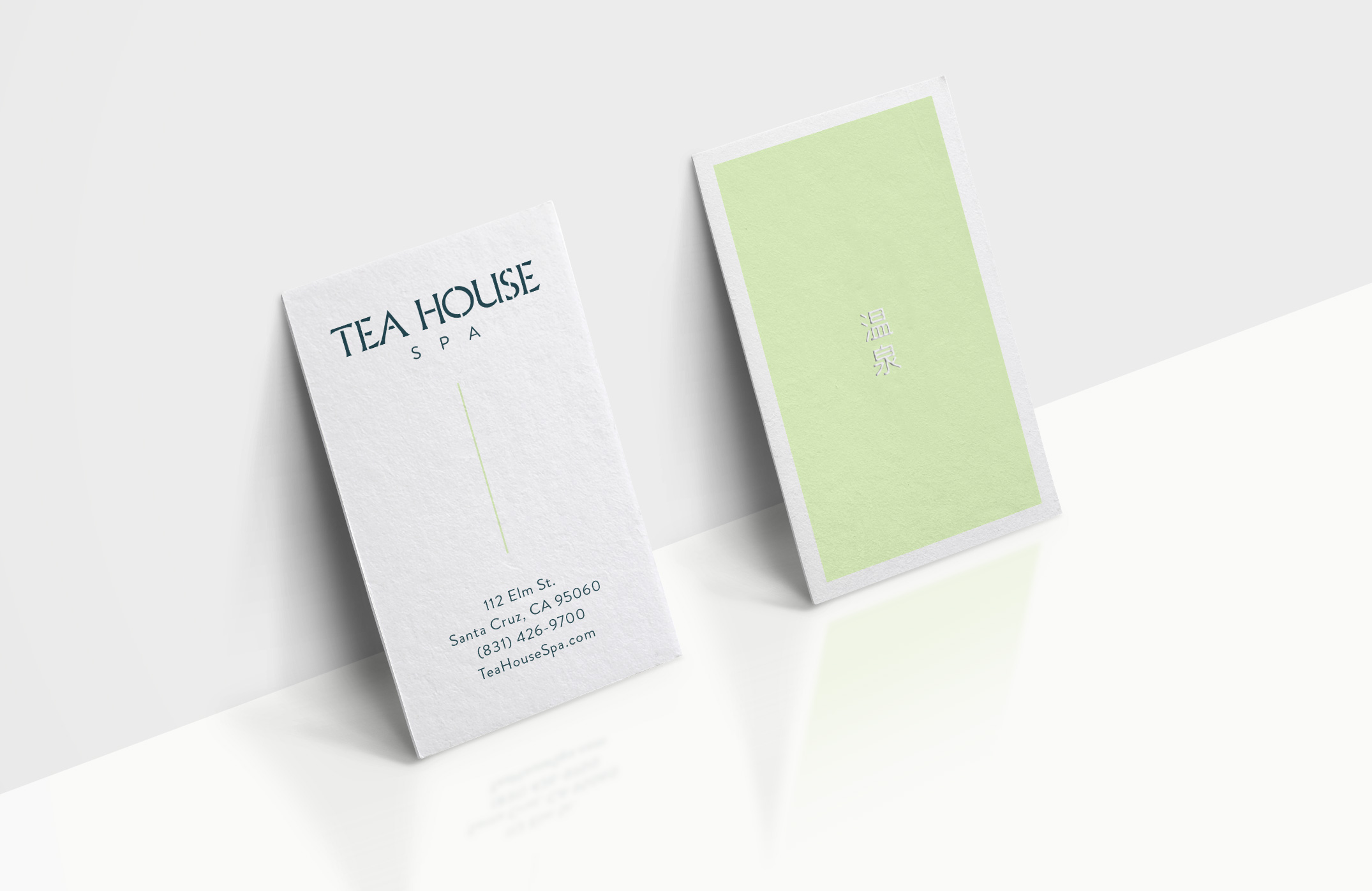 Tea House - Business Cards