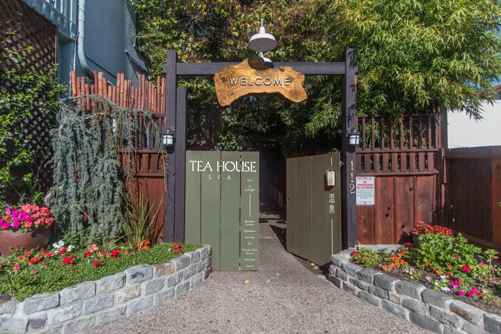 Tea House - Front Signage