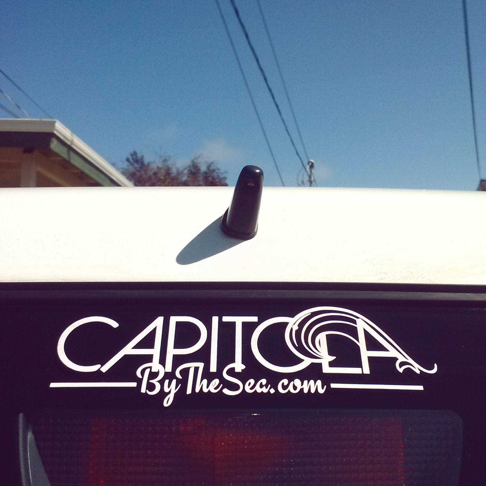Capitola by the Sea - car decal