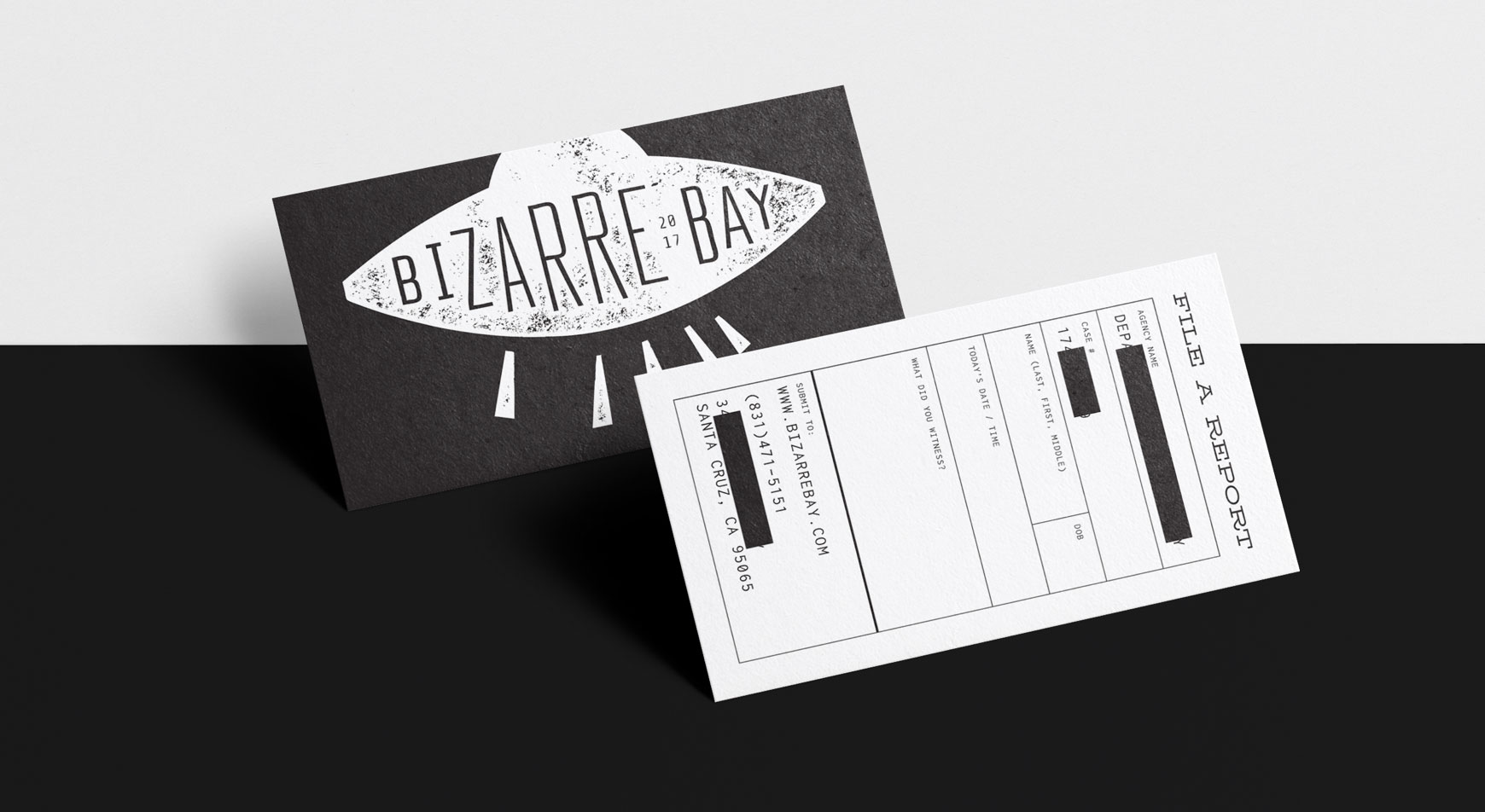 Bizarre Bay - Business Cards