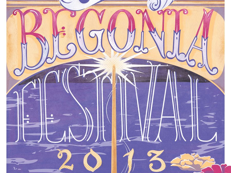 Capitola Begonia Festival 2013 Submission